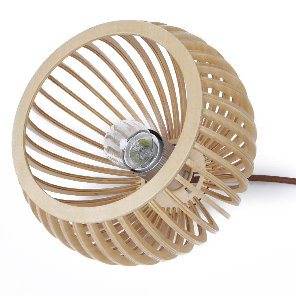 Atto Wooden Pendant Light